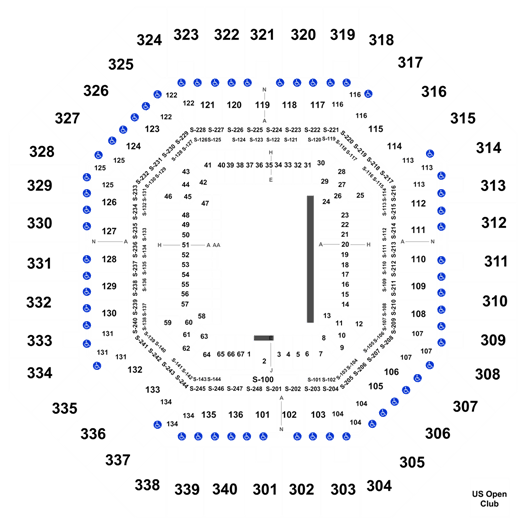 US Open Tennis Championship: Session 2 - Men's/Women's 1st Round at Arthur Ashe Stadium