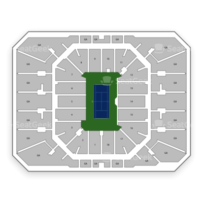 US Open Tennis Championship: Session 17 - Men's/Women's Quarterfinals at Arthur Ashe Stadium