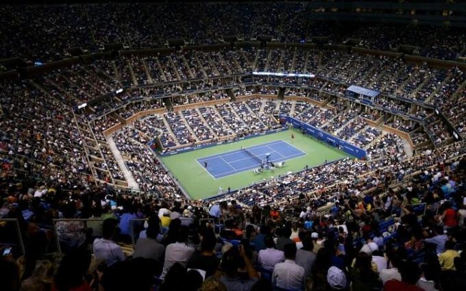 US Open Tennis Championship: Session 22 - Men's Semifinals/Men's Doubles Finals at Arthur Ashe Stadium